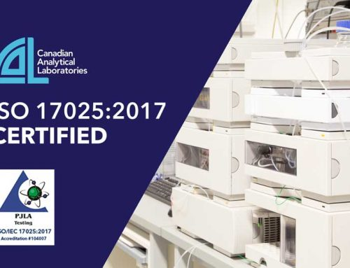Canadian Analytical Laboratories Awarded ISO 17025 2017 Certification